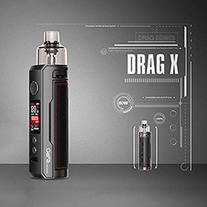 VOOPOO Drag X Specifications Alongside the Device